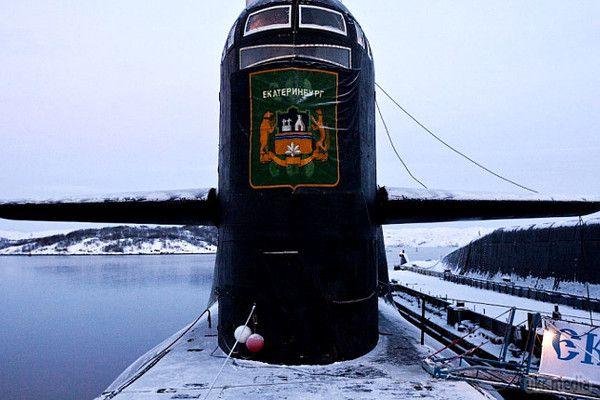 У РФ стався вибух на атомному підводному човні