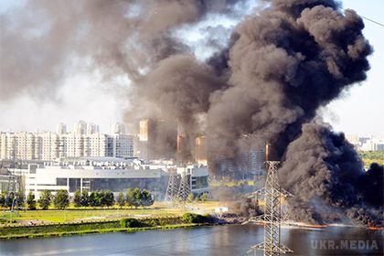 У Москві на НПЗ стався вибух (відео)