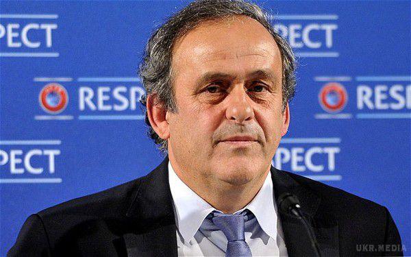 Платіні відмовився балотуватися впрезиденти УЄФА