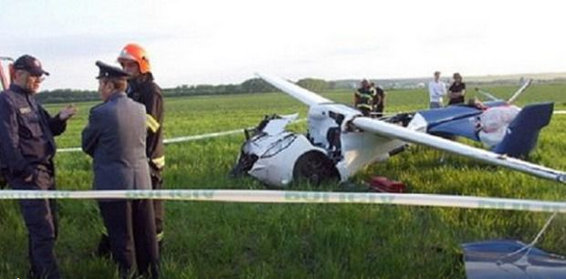 У Львівській області впав легкомоторний літак, загинули дві людини