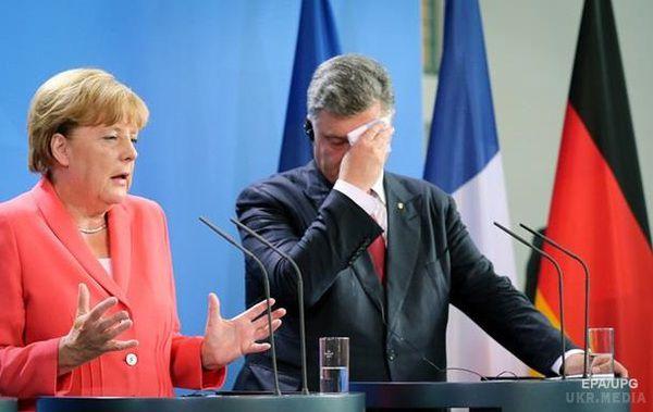 Меркель вірить упрогрес переговорів щодо Донбасу