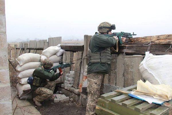 Штаб АТО: Бойовики наДонбасі завдали 71 обстріл