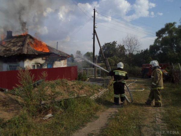 З палаючої хати двох братів врятував п'ятирічний хлопчик