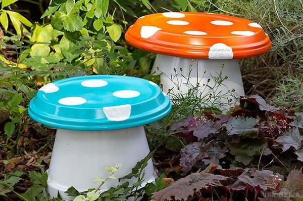 Поделки из ведер для сада и огорода картинки 158