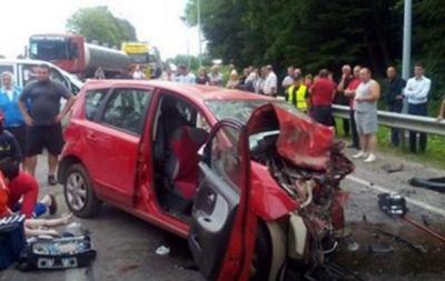 Зросла кількість жертв аварії за участі вагітної під Львовом