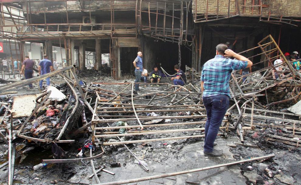 Внаслідок двох вибухів у Багдаді загинули щонайменше 82 особи