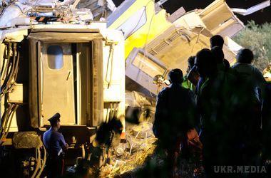 Один з машиністів поїздів що зіткнулися в Італії вижив