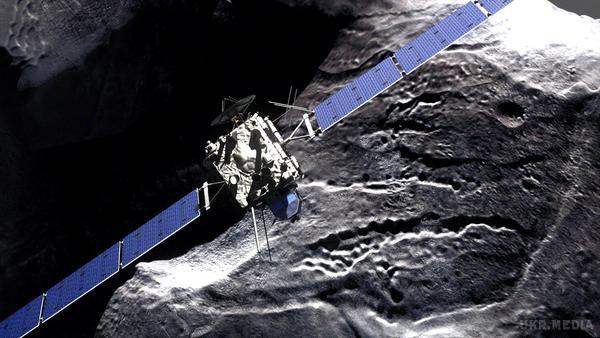 Космічний апарат «Розетта» був спрямований на зіткнення зкометою