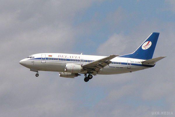 Бєлавіа: літак завернули доКиєва, погрожуючи винищувачами