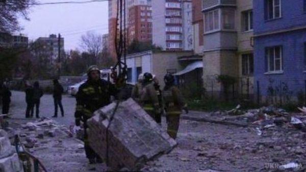 Внаслідок вибуху вжитловому будинку вРязані загинуло три особи