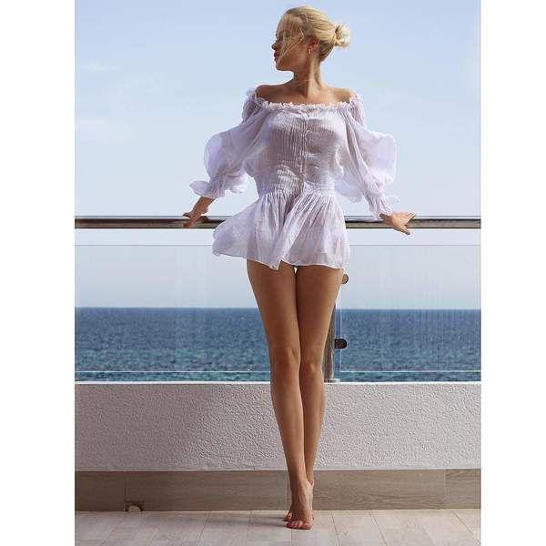 Фото празрачное платье