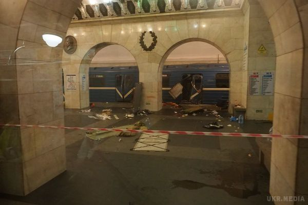 Затримали одного зорганізаторів теракту в пітерському метро— ЗМІ
