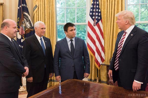 Трамп зустрівся зКлімкіним, говорили про Донбас та підтримку України