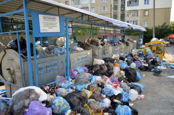 УЛьвові можуть оголосити надзвичайний стан через сміття