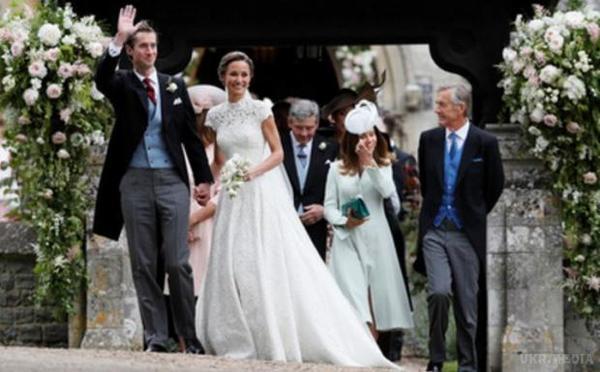 Молодша сестра Кейт Міддлтон вийшла заміж за мільйонера