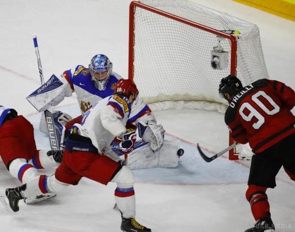 Росія зазнала блискучої поразки від Канади у півфіналі ЧСзхокею