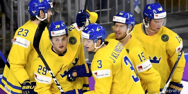 Швеція уфеєричному поєдинку обіграла Канаду тастала чемпіоном світу зхокею