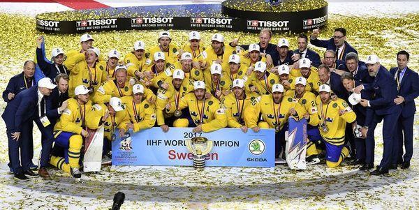 Чемпіонат світу зхокею: Швеція виборола титул найкращої