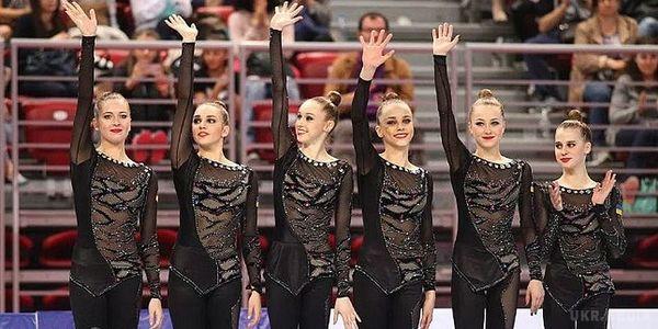Українська збірна зхудожньої гімнастики везе з Іспанії чотири медалі