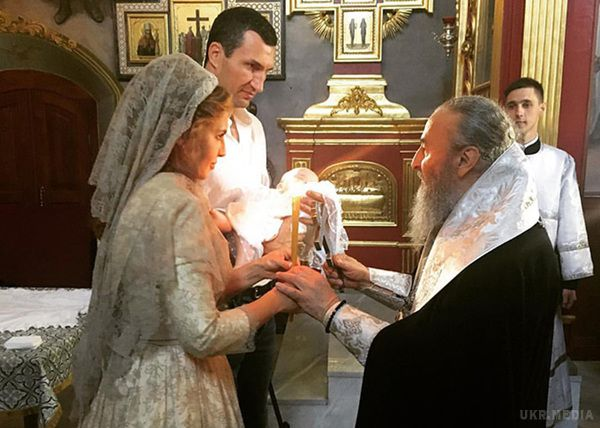 Телеведуча Оксана Марченко підтвердила, щовони зКличком хрестили дочку Шуфрича