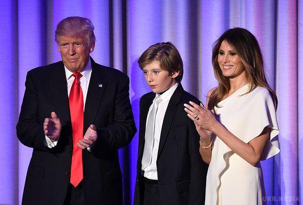 Дружина Трампа разом із сином переїхала в Білий дім
