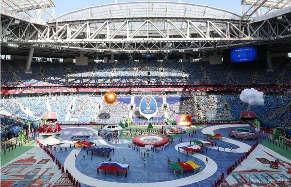 Росія обіграла Нову Зеландію вматчі-відкритті Кубка конфедерацій
