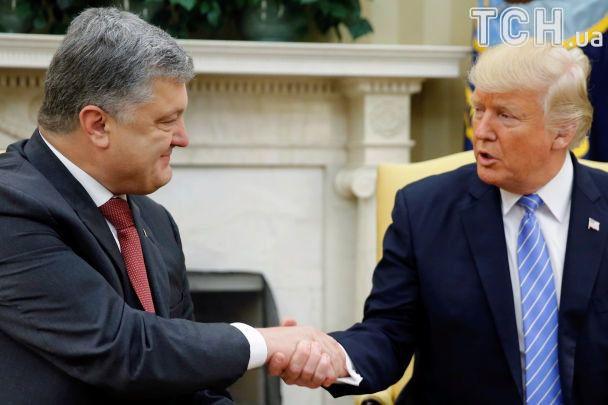 Трамп неправильно назвав Україну врозмові зПорошенком