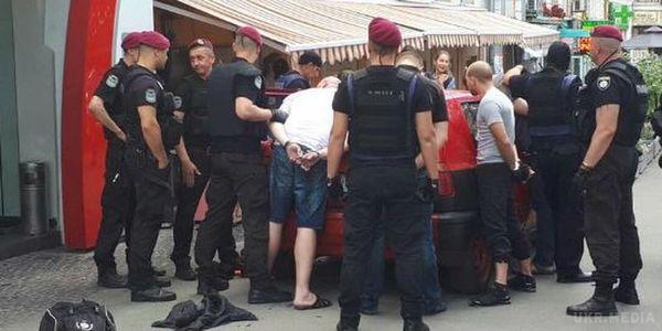 СБУ: Замовниками провокацій біля посольства уКиєві були спецслужби Росії