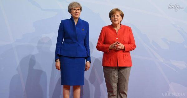 Меркель втекла від Трампа зПутіним