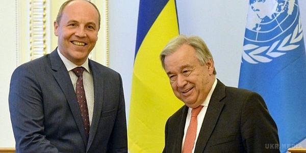 Спікер Ради запропонував позбавити Росію права вето вРадбезі ООН