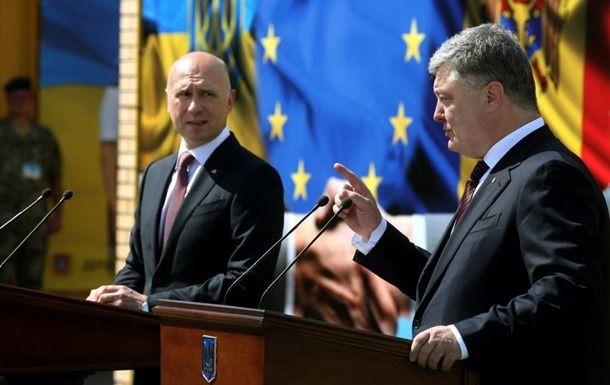 Порошенко: Україна готова допомогти відновленню територіальної цілісності Молдови