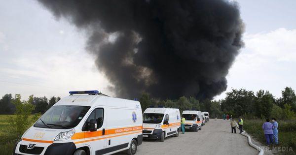НаКиївщині нанафтобазі «БРСМ» знову спалахнула пожежа