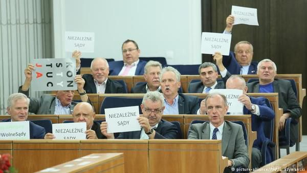 Президент Польщі відмовився підписувати скандальний закон про судову реформу