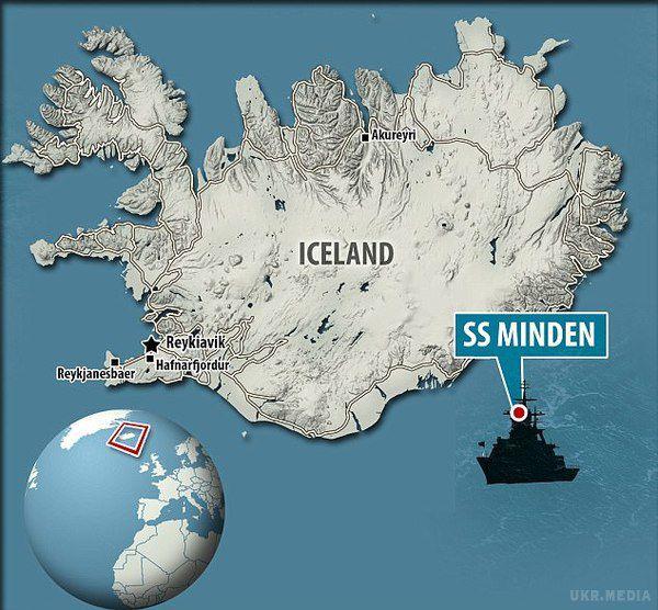 Поблизу Ісландії знайшли затонуле судно ззолотом нацистів на $100 млн