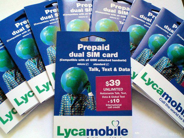 Британський мобільний оператор Lycamobile опублікував свої тарифи для України