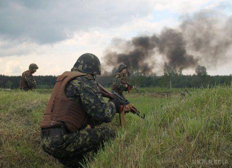 Бойовики обстріляли опорний пункт сил АТО вМар'їнці - штаб АТО
