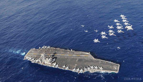 Іран заявив про провокаційні дії авіаносця США вПерській затоці