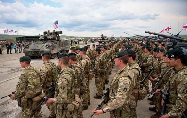 Нанавчання НАТО вГрузію прибула друга партія військової техніки США