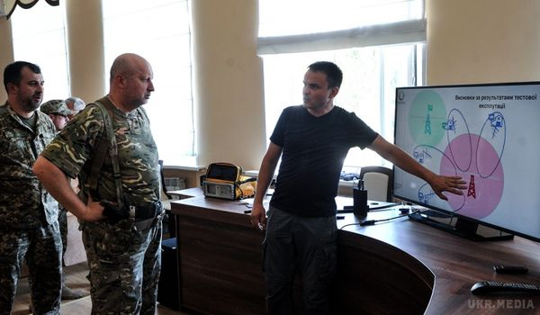 Олександр Турчинов наДонбасі випробував «глушилку» антиукраїнського ефіру