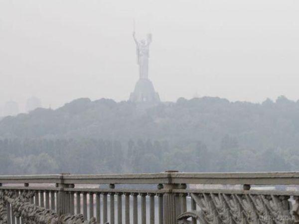 ДСНС попереджає про забруднення повітря вКиєві