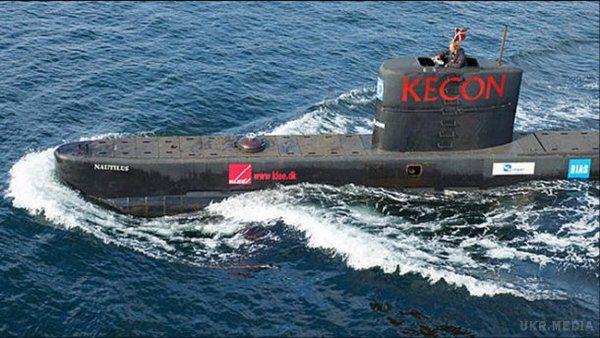 Підводний човен уДанії затопили навмисно— поліція
