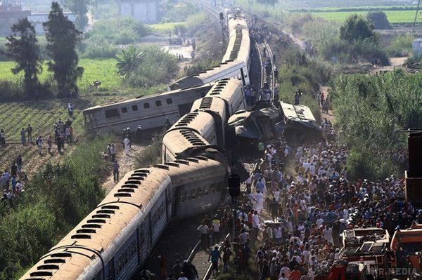 В Єгипті зіткнулися два пасажирських поїзди, десятки загиблих (ОНОВЛЕНО)