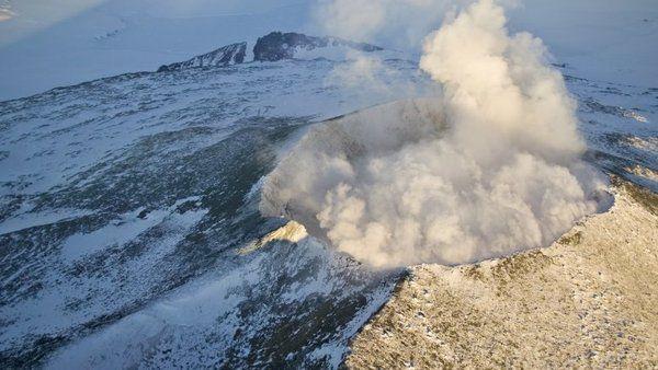 ВАнтарктиді вчені знайшли 91 вулкан