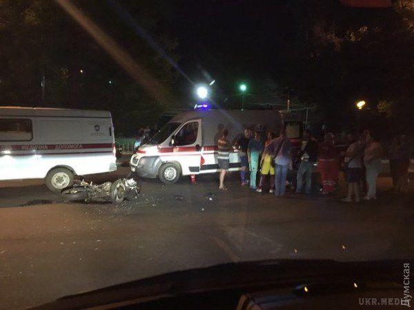 Водій зпосвідченням майора СБУ збив мотоцикліста і зник з місця аварії