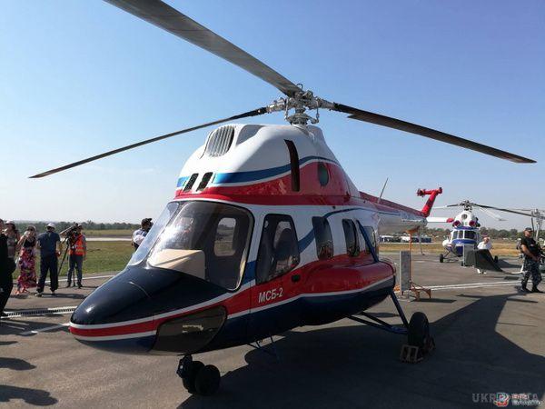 Мотор Січ представила вертоліт власного виробництва