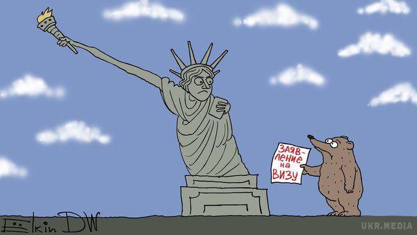 США призупиняють видачу неімміграціних віз уРосії