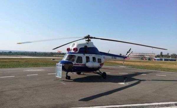 «Мотор Січ» презентувала перший український гелікоптер «Надія»