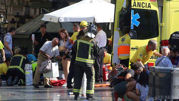 Теракт уБарселоні: іспанська влада назвала водія фургона