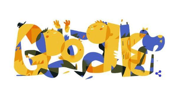 Google привітав українців святковим дудлом зДнем Незалежності 2017