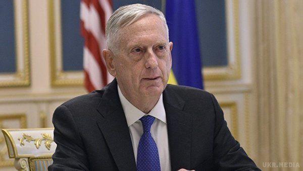 Меттіс: США ніколи неприймуть анексію Криму